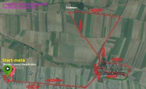 Trasa - półmaraton Stara Krobia